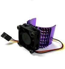 540 550 560 RC EP Moteur électrique Dissipateur de chaleur 6 V avec ventilateur Violet échelle 1/10 Top