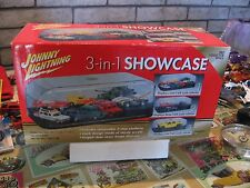 JOHNNY LIGHTNING 3 IN 1 SHOWCASE DISPLAY FOR MODEL 1/24 & 1/64 CARS NEW  MINT