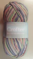 Sirdar Snuggly Crofter Baby Fair Isle 4 Ply #184 Gracie Purple Pink Green White