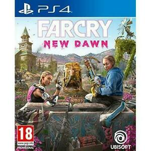 Farcry New Dawn (Playstation 4 PS4) Great Condition