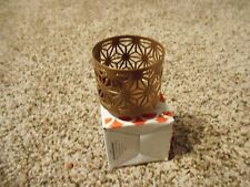 Gold Canyon SunBurst Teenie Wrap Candle Holder For Use With Volights New In Box
