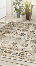 Origin Anatolia Turkish Vintage Style Traditional Classic Rug  Beige 3 Sizes