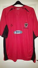 Mens Football Shirt - AFC Wimbledon FC - Away 2011-2012 - Tempest - Red - XXXL
