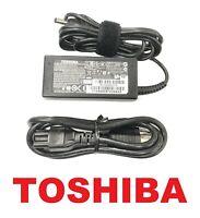 Genuine New Toshiba 45W 19V AC Power Charger For Satellite C70D-B C70D-C Laptops
