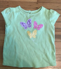 Gymboree Butterfly Blossoms Top 2T 3T 4T New Yellow Floral Bow Swing Girls Shirt
