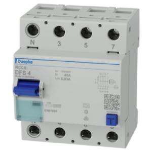 Doepke Fehlerstromschutzschalter DFS 040-4/0,03-A