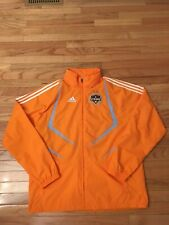 Houston Dynamo MLS Adidas 2008 Men's Soccer Sideline Jacket Size M