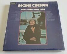 "Vintage Regine Crespin ""Prima Donna From Paris"" Reel To Reel (Sealed/New)"