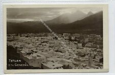 (Ga2838-100) Real Photo of TETOUAN, Vista General, Morocco c1930 EX