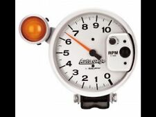 "5"" silver shift light tach 10,000 rpm autogauge"