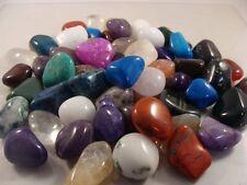 Tumbled and Polished Gemstones - Size Large (Size #5) - Highly Polished - 1 LB