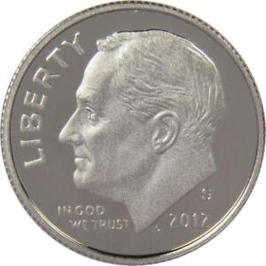 2012 S Roosevelt Dime Choice Proof Clad 10c US Coin Collectible