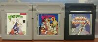 Bugs Bunny Crazy Castle 1 2 3  - Nintendo Game Boy Color GB GBC Lot GBA Advance