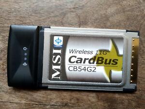 MSI CB54G2 WLAN -Karte PCMCIA
