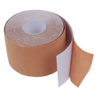 1 Roll Muscles Care Fitness Athletic Health Tape 5M * 5CM - Apricot F1I4