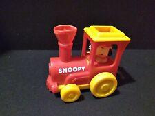 Vintage Peanuts Snoopy Train - Aviva 1958