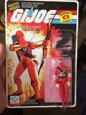 Gi Joe Argentina Plastirama Satan Ninja - Please Read Full Description