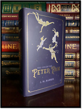 The Collected Peter Pan by J.M. Barrie New Illustrated Hardcover w Ribbon Marker