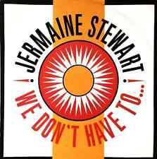 """JERMAINE STEWART - We Don't Have To... (12"""") (F-G/VG-)"""