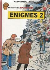 Tibet – A. P. Duchateau 14 récits de Ric Hochet « Enigmes 2″ tirage de tête