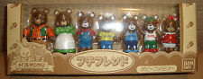 MAPLE TOWN STORY BEARS FAMILY - BANDAI 1986 JAPAN  メイプルタウン物語