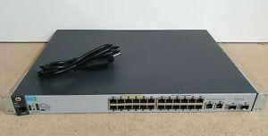 HP ProCurve J9779A • 2530-24-PoE+ • PoE Switch