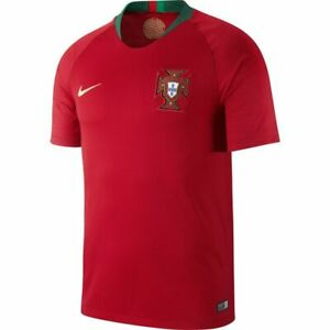 NIKE 2018 PORTUGAL HOME WORLD CUP SOCCER JERSEY RED GREEN 893877 687 Size Medium