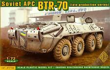Ace Models 1/72 BTR-70 (LATE PRODUCTION) SOVIET ARMORED PERSONNEL CARRIER