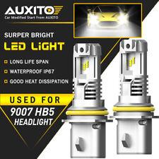 AUXITO 2X 9007 HB5 LED Headlight lamp Bulbs For PETERBILT PETE 2000-2016 EOA