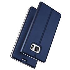 Handy Hülle Samsung Galaxy S7 Book Case Schutzhülle Tasche Slim Flip Cover