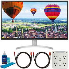 """LG 32QK500-C 32"""" Class QHD LED IPS Monitor w/ Radeon FreeSync + Accessories Kit"""
