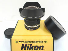 Nikon Nikkor 15mm f/3.5 Ai-S Full Frame Manual Focus Super Wide Angle Lens 1412