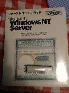 MS Windows NT Server 4.0 oem JAPANESE