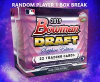 2019 BOWMAN DRAFT SAPPHIRE EDITION BASEBALL LIVE RANDOM PLAYER 1 BOX BREAK #4