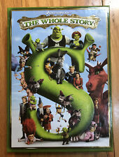 Shrek - The Whole Story (Dvd, 2010, 5-Disc Set) Complete Collection Box-Set