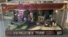 Lego Indiana Jones Raiders Super Rare Shop Display 7620 7623 illuminated 2011