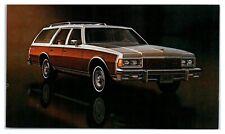 1977 Chevrolet Caprice Station Wagon Postcard *5C
