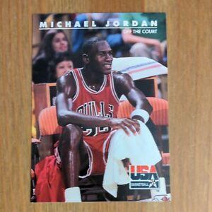 Michael Jordan 1992 SkyBox USA Basketball #41