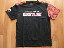 **Brand New** Daiwa TD Battler Short Sleeve T-Shirt - Camo Orange / Black, L