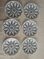 "Corelle Amalfi Azul Bread & Butter Plates  6 3/4"" BRAND NEW"