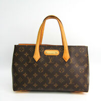 Louis Vuitton Monogram Wilshire PM M45643 Women's Tote Bag Monogram BF512243