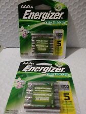 8 Count Energizer AAA Rechargeable Batteries