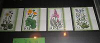 "FRANCOBOLLI STAMPS GERMANIA BERLIN 1977 ""FIORI / FLOWERS"" MNH** SET (CAT.9)"