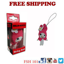 New Sanrio My Melody String Doll VooDoo Doll Key Chain Cell Phone Strap