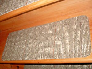 14  Step Indoor Stair Treads Staircase Step Rug Carpet  9'' x 24''  # 0071