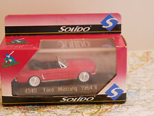 SOLIDO FORD MUSTANG 1964 1/2 ART. 4530 ART.4540 RED NEW DIE-CAST 1:43