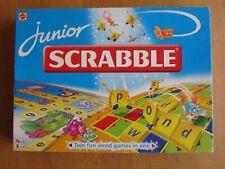 Junior Scrabble Board Game by Mattel