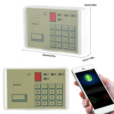 Wired Telephone Voice Auto-dialer Burglar Security House Alarm Dialer System ZY