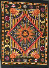 Tapestry Astrology Wall Hanging Hippie Indian Mandala Zodiac Cotton Poster Throw