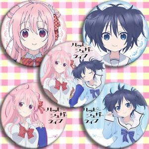 5pcs Happy Sugar Life Matsuzaka Satou Badge Itabag Brooch Cosplay Holiday Gift